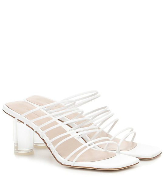 Rejina Pyo Zoe leather sandals in white