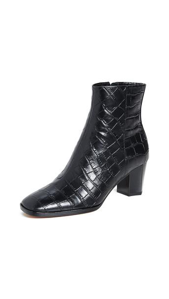 Diane von Furstenberg Thelma Booties in black