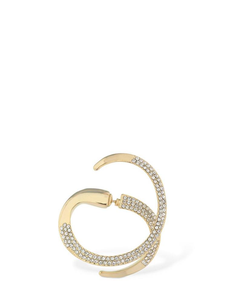 FEDERICA TOSI Brooke Crystal Mono Earring in gold