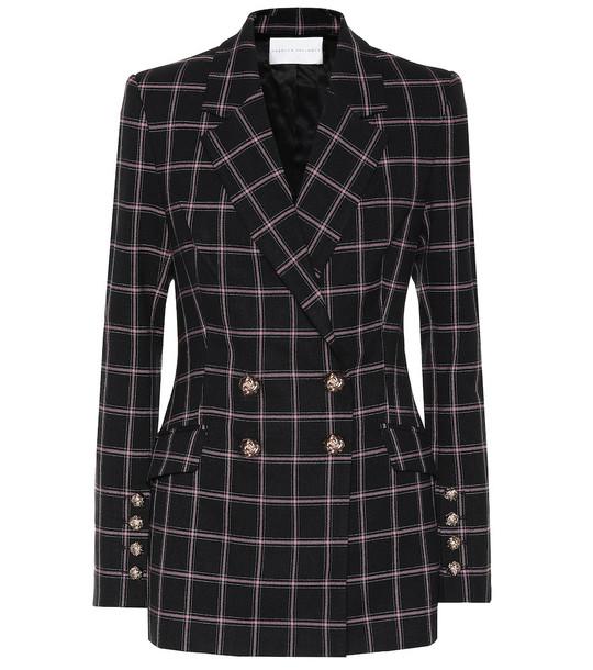 Rebecca Vallance Peta checked blazer in black