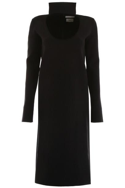 Bottega Veneta Cut-out Dress in black