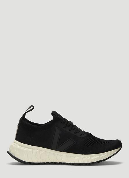 Rick Owens x Veja Thunderbird Mesh Knit Sneakers in Black size EU - 36