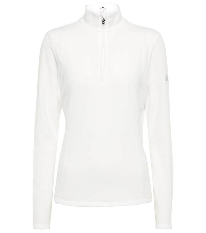 BOGNER Madita zipped top in white