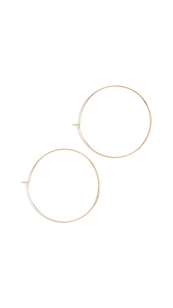 Jules Smith Suki Hoop Earrings in gold