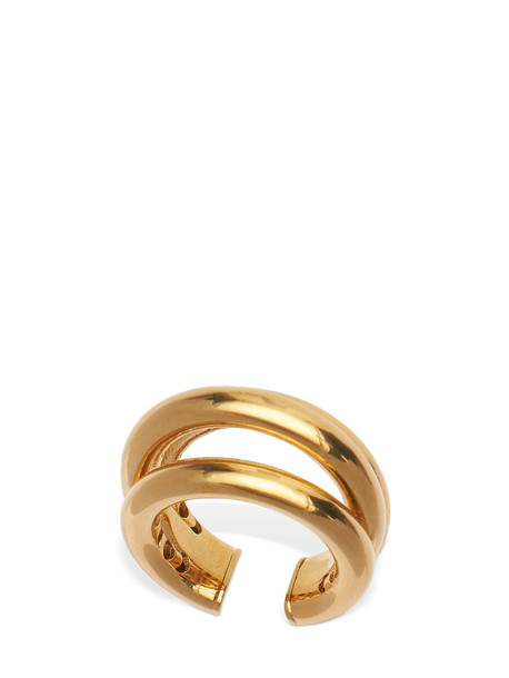 FEDERICA TOSI Small Tube Adjustable Ring in gold
