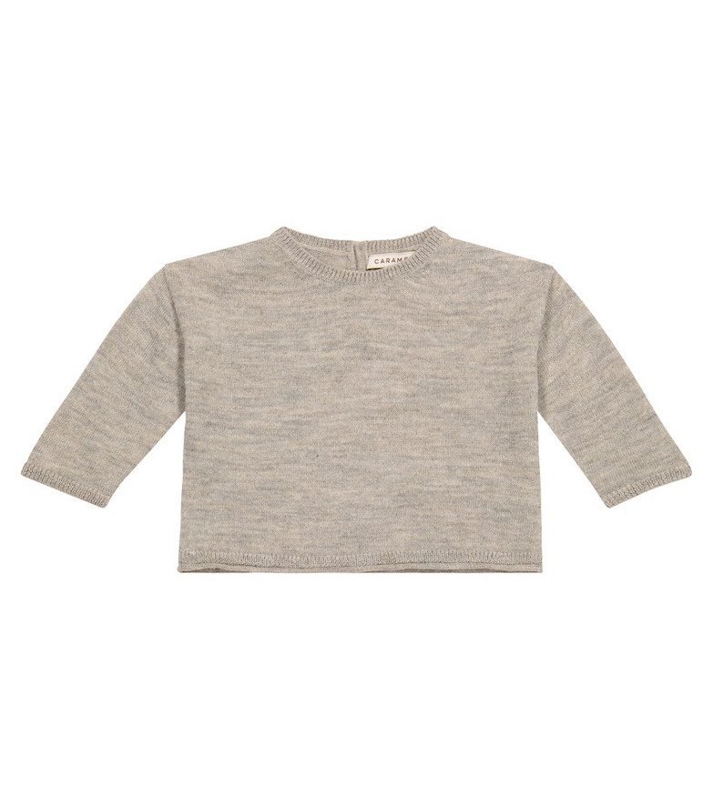 Caramel Baby Cuttlefish wool-blend sweater in beige
