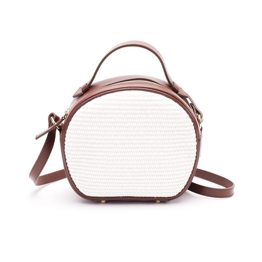L'Autre Chose Lautre Chose Bag in brown / white