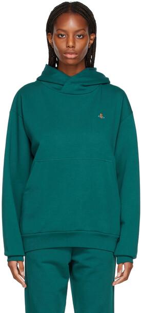 Vivienne Westwood Green Pullover Hoodie