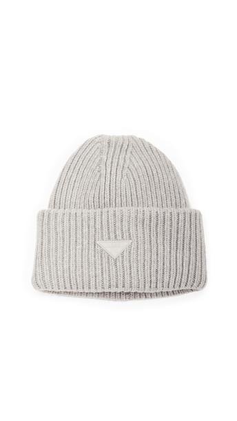 LAST Oversize Grey Melange Hat