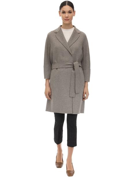 MAX MARA 'S Arona Wool Coat in grey