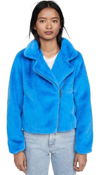 Apparis Tukio Jacket in blue