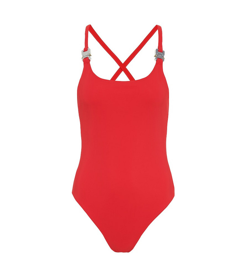 1017 ALYX 9SM Susyn one-piece swimsuit in red