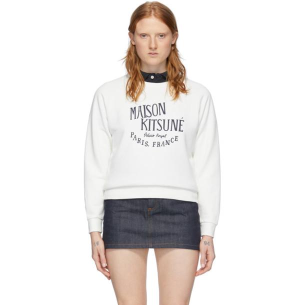 Maison Kitsune Off-White Palais Royal Sweatshirt