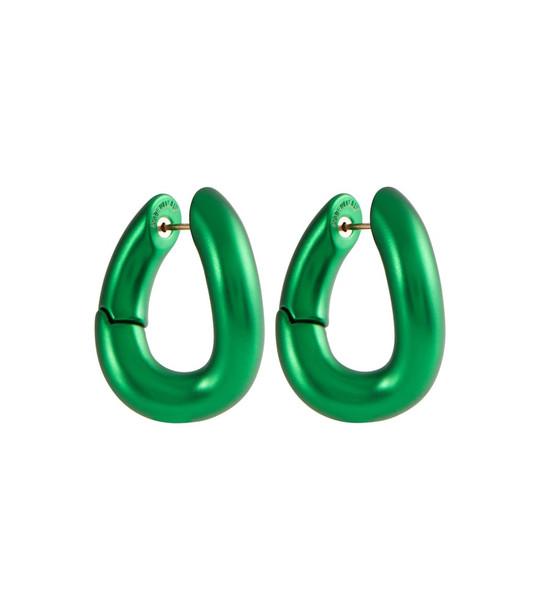 Balenciaga Loop earrings in green