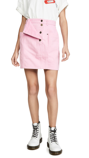 Jacquemus Nimes Skirt in pink