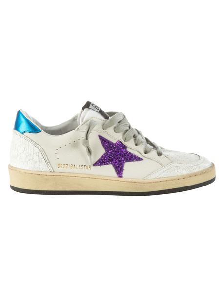 Golden Goose Ball Star Sneakers in bianco