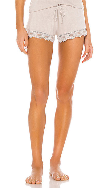 eberjey The Retro Short in Taupe