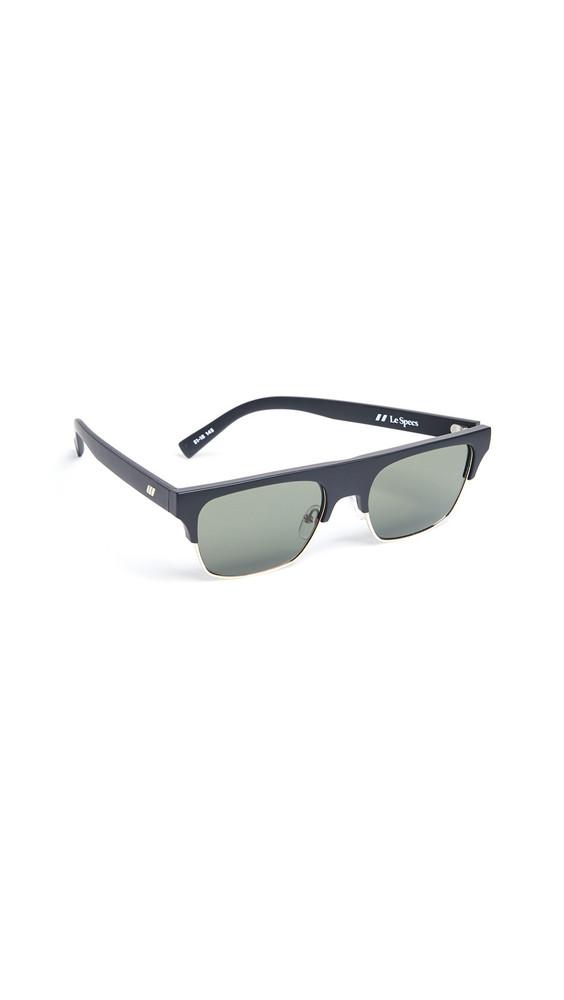Le Specs Cruel Summer Sunglasses in black / khaki