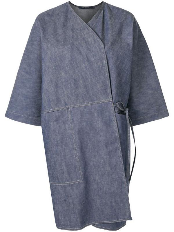 Sofie D'hoore cotton kimono jacket in blue