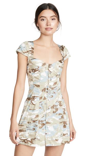 Miaou Gigi Dress in print