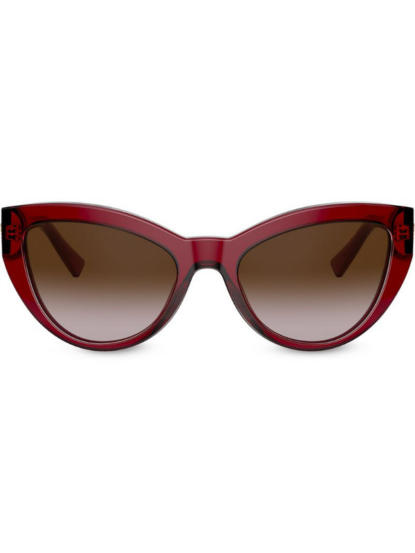 Versace Eyewear cat eye frame sunglasses in red