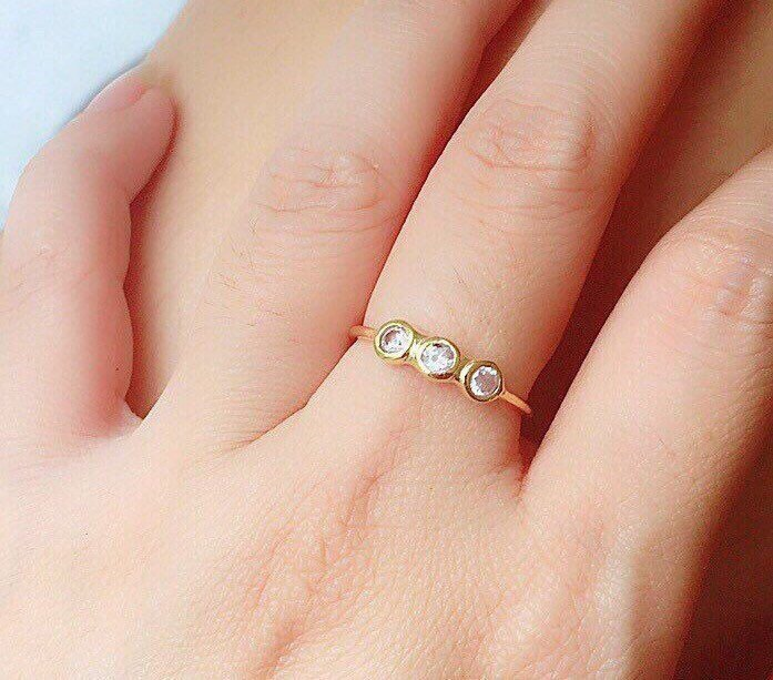 jewels cubic zirconia memorial ring simple ring jewelry v gold ring cubic zirconia rings gemstone ring silver jewelry
