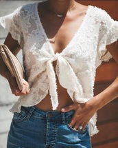 blouse,boho,white,glamour,cute,girly,pinterest,white crop tops
