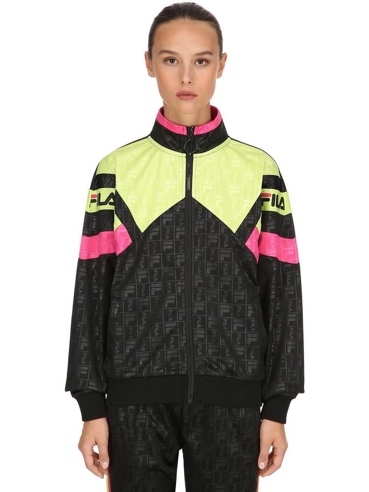 FILA URBAN Cassandra Techno Track Jacket in black