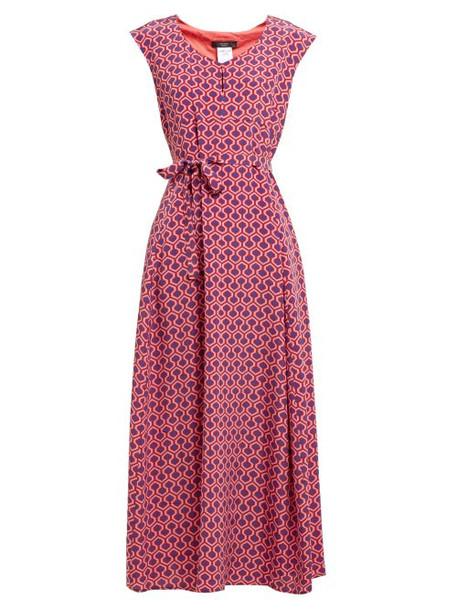 Weekend Max Mara - Luis Dress - Womens - Pink Multi