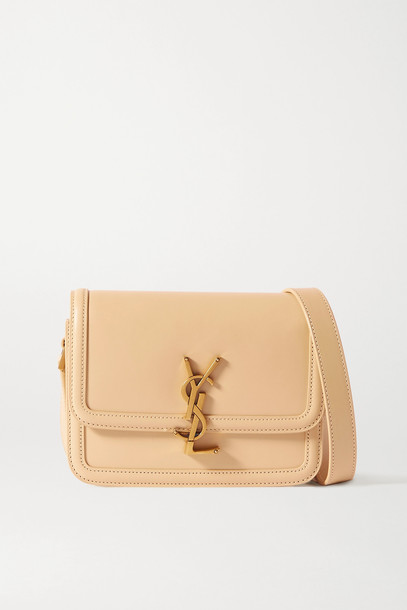 SAINT LAURENT - Solferino Small Leather Shoulder Bag - Ivory