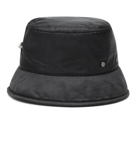 Maison Michel Axel nylon bucket hat in black