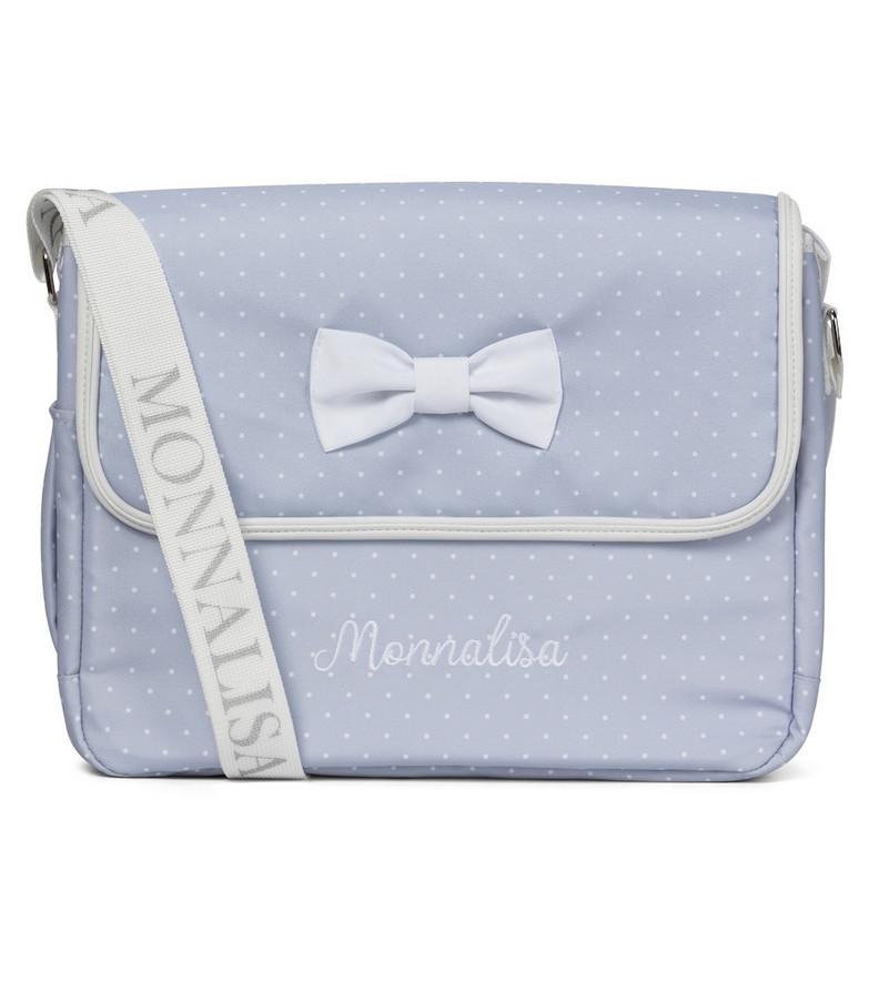 Monnalisa Changing bag and mat set in blue