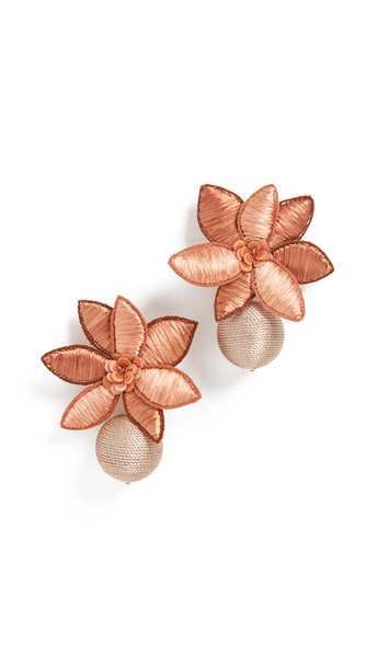 Lizzie Fortunato Tuscan Field Earrings in multi