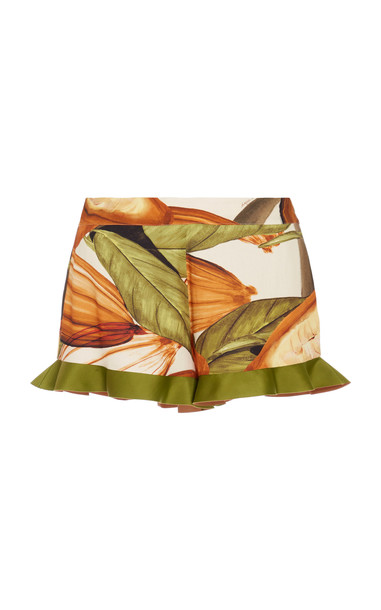 Agua de Coco HIGH WAISTED SHORTS Size: XS in print