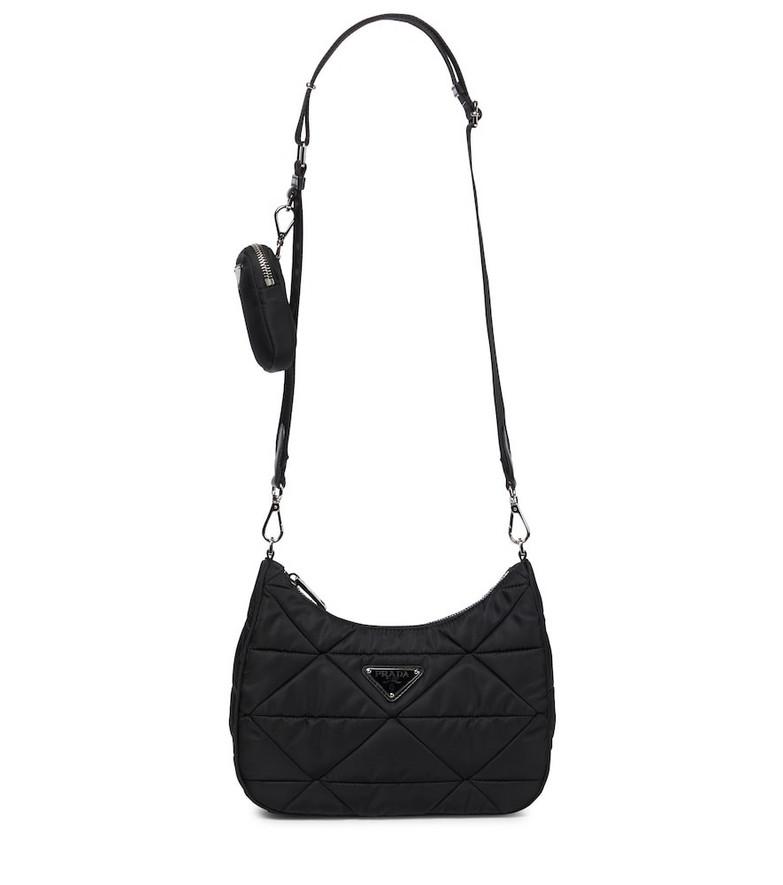Prada Re-Nylon shoulder bag in black