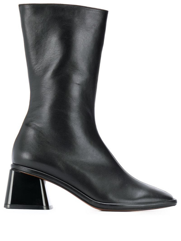 Clergerie Tara leather boots in black
