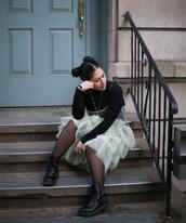 mimi & chichi blog,blogger,dress,shirt,tights,shoes,jewels