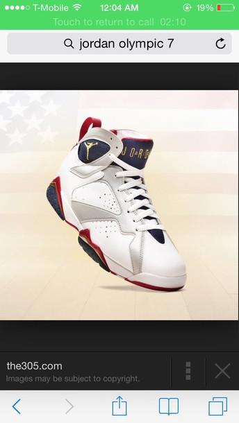 shoes retro 7 olympic 7s jordans