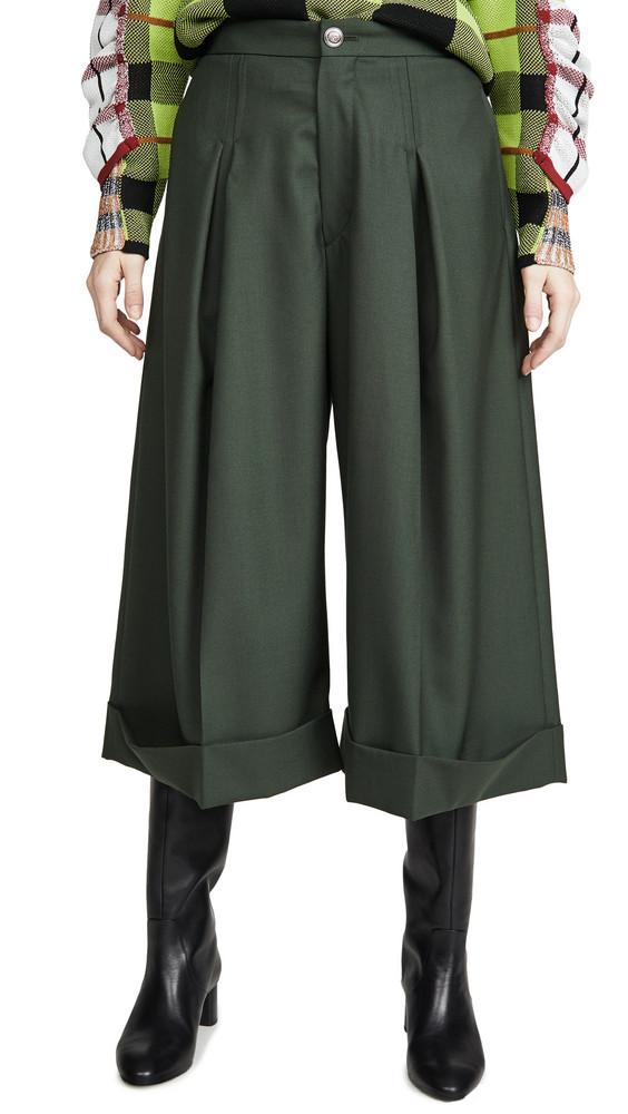 Toga Pulla Suiting Culottes in khaki
