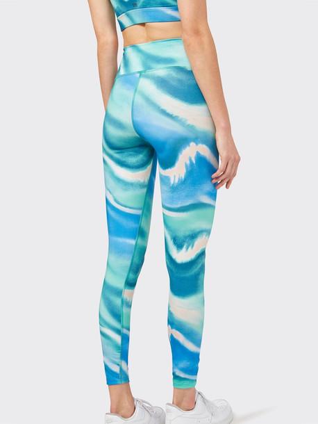 SPLITS59 Liv High Waist 7/8 Leggings in blue