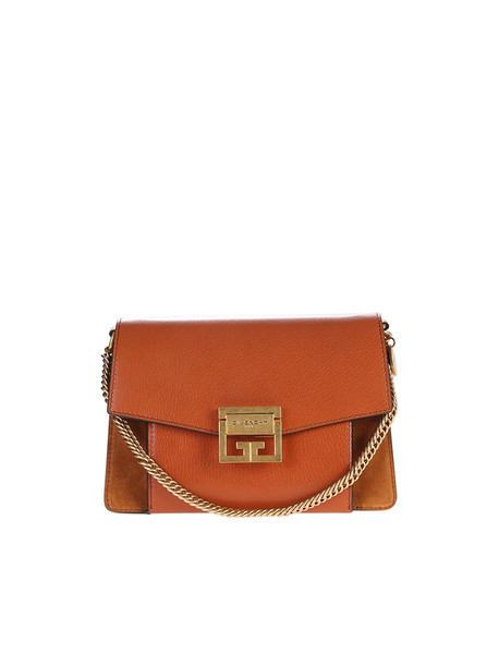 Givenchy Chestnut Small Gv3 Bag in brown