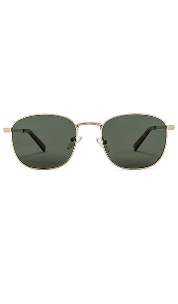Le Specs Neptune Deux Sunglasses in Metallic Gold