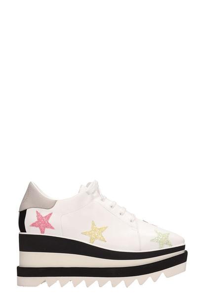 Stella McCartney Elyse Platform Shoes in white
