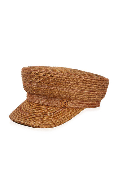 Maison Michel Abby Straw Hat in brown