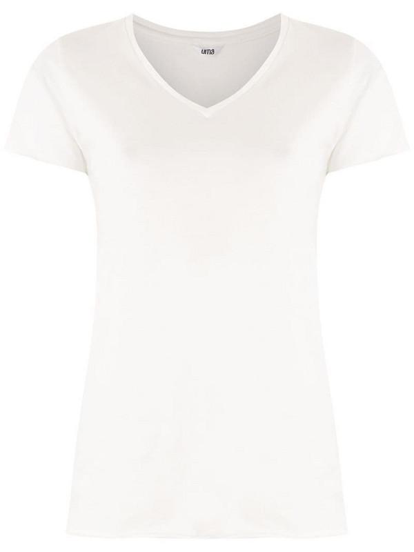 Uma - Raquel Davidowicz Canal short sleeve blouse in white