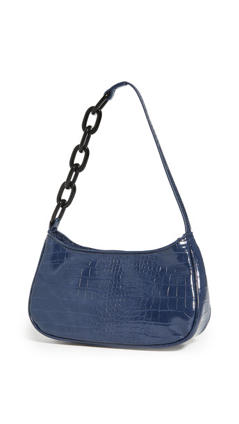 House of Want Newbie Baguette Bag in navy
