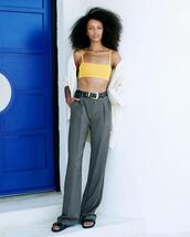 pants,charcoal,casual,long,tall,official style