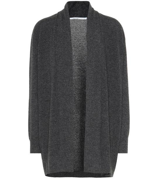 Agnona Cashmere cardigan in grey