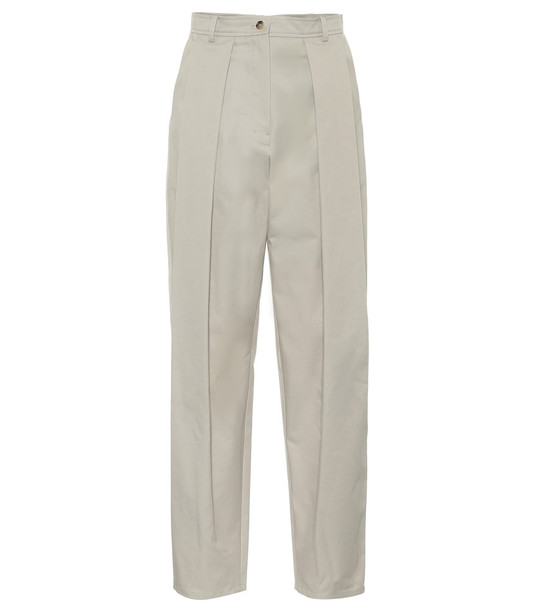 Magda Butrym Harwich cotton pants in beige