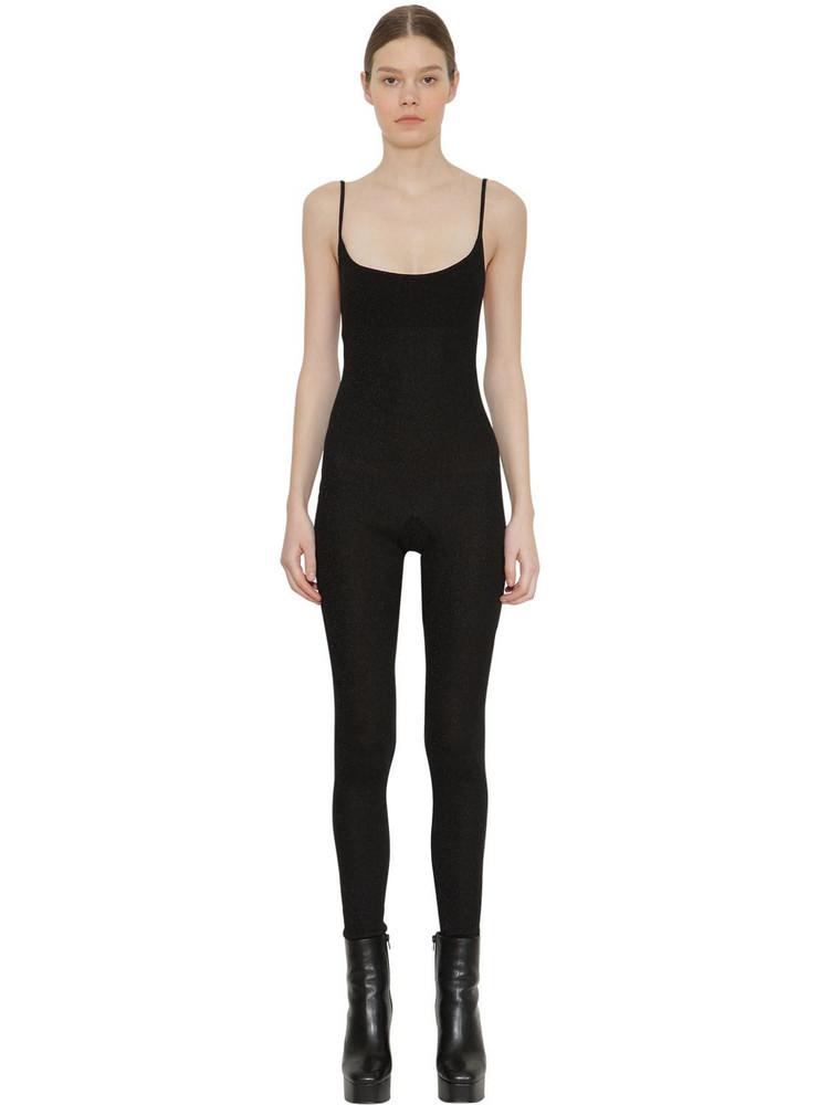 FAITH CONNEXION Stretch Jersey Jumpsuit in black